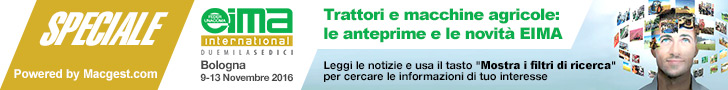 Trattori e macchine agricole - Speciale EIMA International 2016