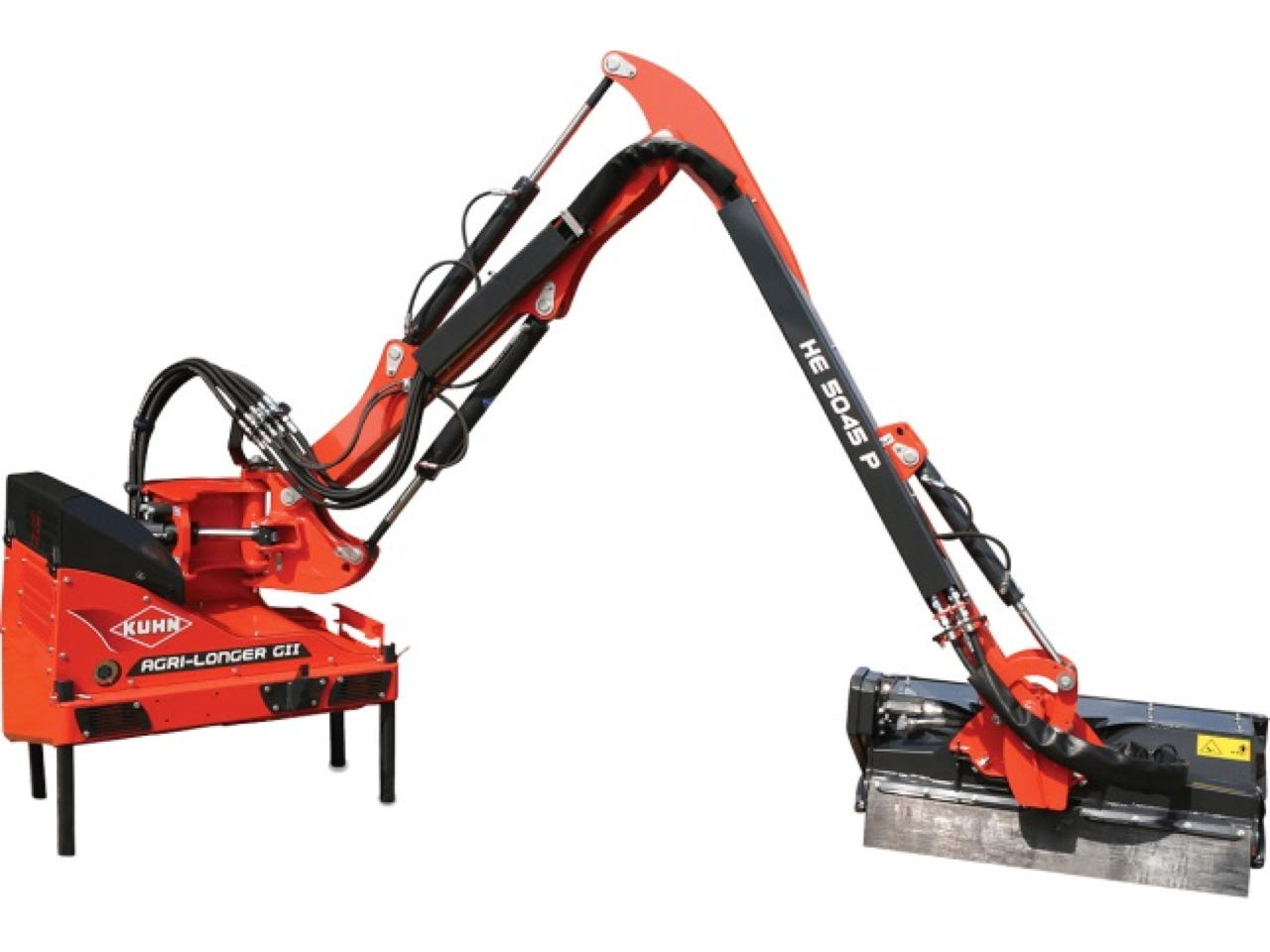 Kuhn Agri-Longer GII con perno di sicurezza