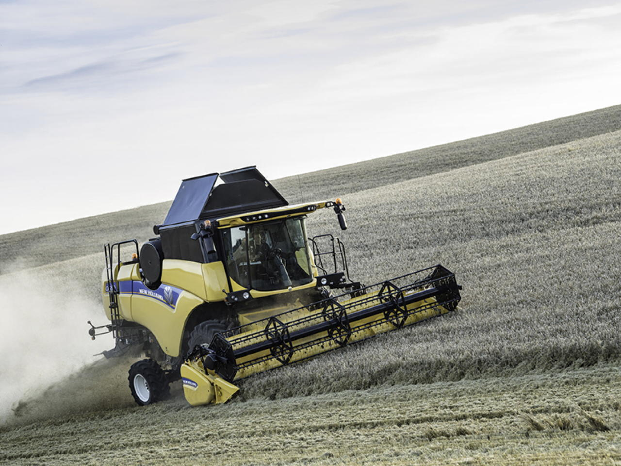 New Holland CX5 & CX6 Laterale & Hillside CX5.90 Hillside Stretta