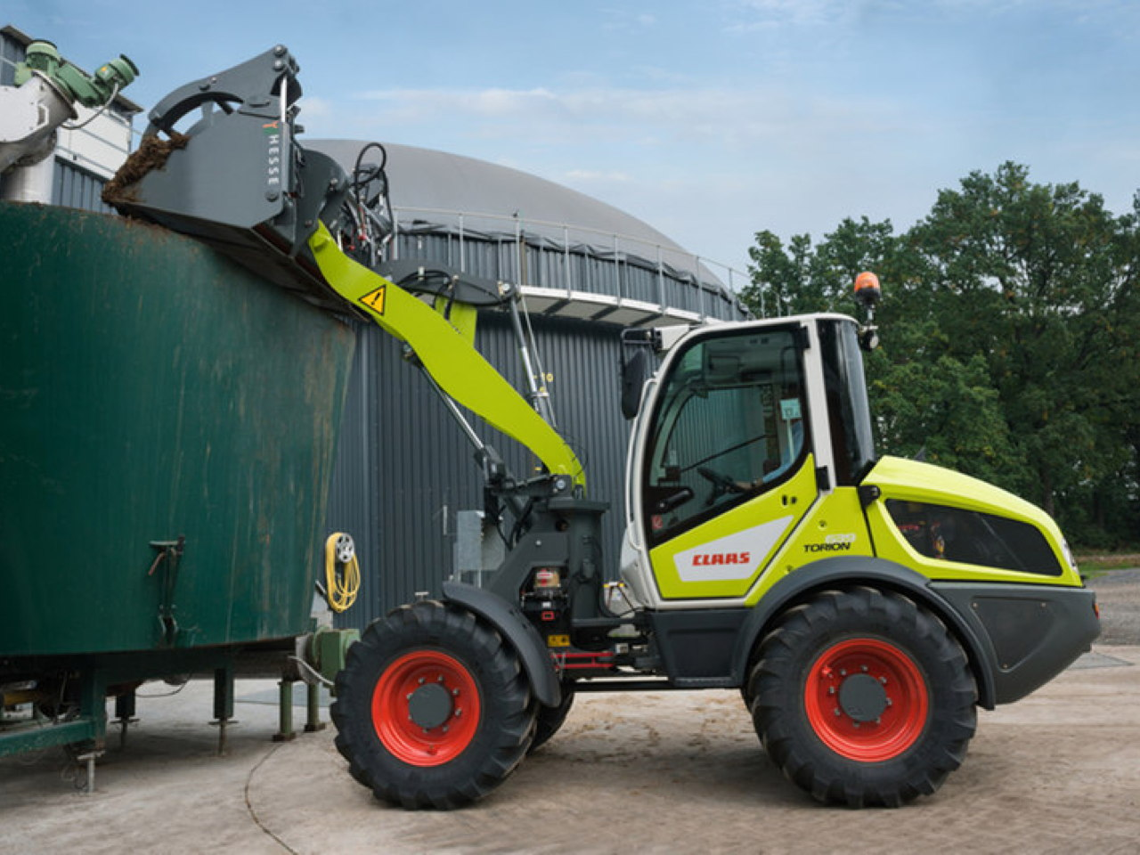 Claas Torion 639-535 Torion 535